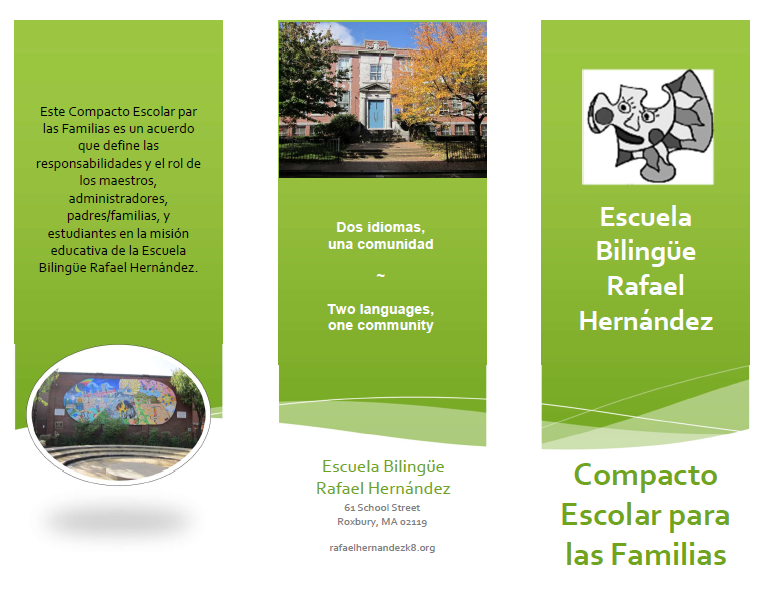Image of Parent-School Compact brochure